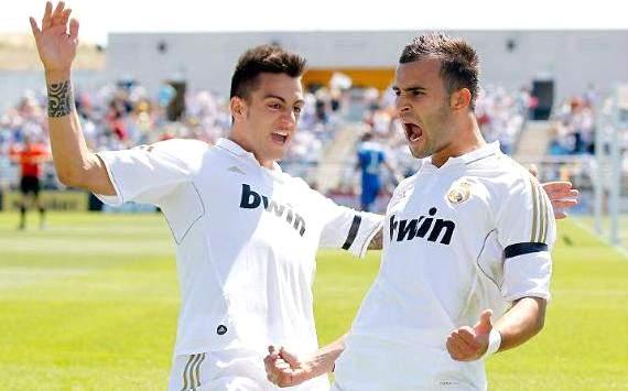 Joselu Mato y Jesé Rodríguez, Real Madrid Castilla 5-1 Cádiz 05