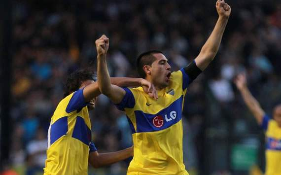 Boca's Riquelme: We are the best team in the country