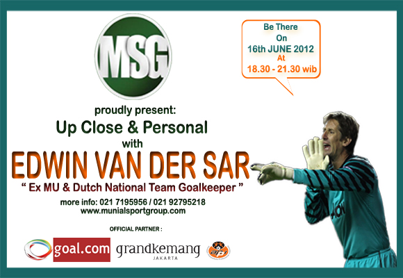 MSG Up Close &amp; Personal with Edwin van der Sar