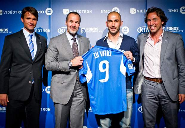 Montreal Impact introduce new DP striker Marco Di Vaio