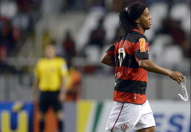 Ronaldinho could be exploring a move away from Flamengo
