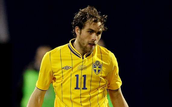Galatasaray insist Elmander should not play against France