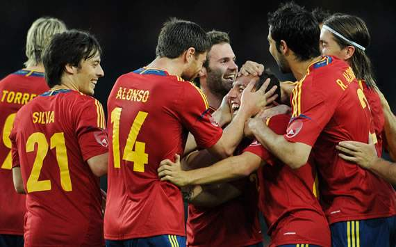 Spain- Korea Republic