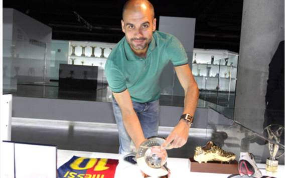 pep guardiola (best coach award)