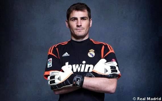 Casillas Camiseta Real Madrid 2012-13
