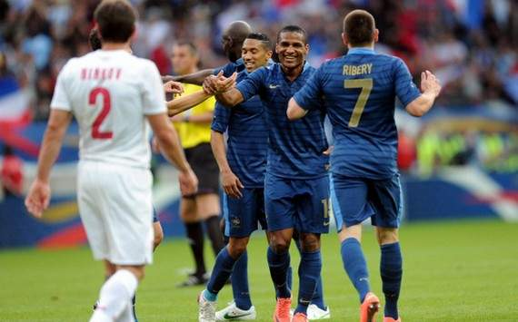 International Friendly : Florent Malouda & Gaël Clichy & Franck Ribéry (France vs Serbia)