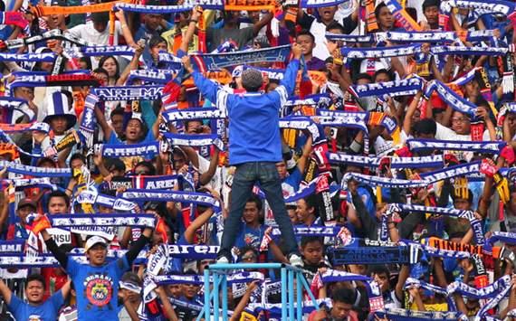 Aremania - Fans Arema FC (GOAL.com/Antara)