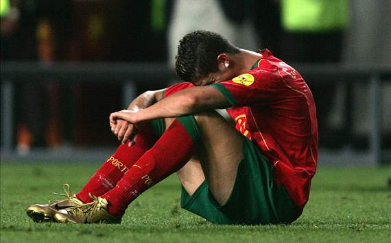 Teenage tears & dreams demolished: When Cristiano Ronaldo & Portugal succumbed to Greece at Euro 2004
