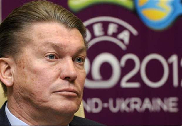 Blokhin hits out at officials and confronts journalist after England defeat