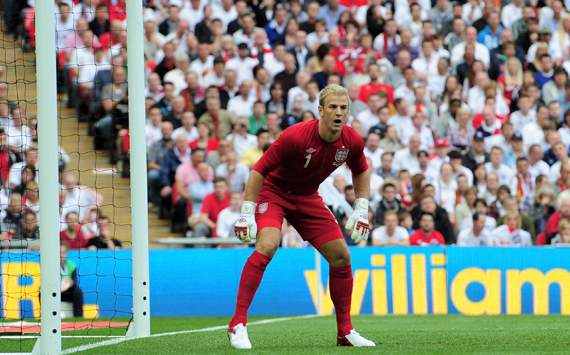 Hart: England are ready to take on anyone at Euro 2012