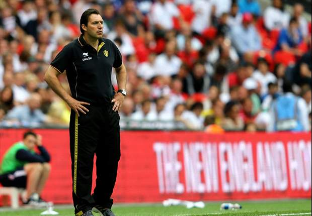 Wilmots predicting bright future for Belgium's golden generation