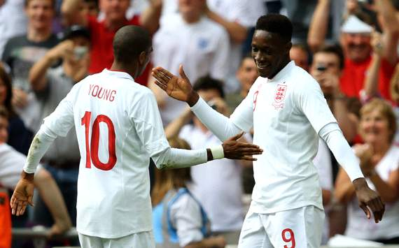 International Friendly:Danny Welbeck - Ashley Young, England v Belgium