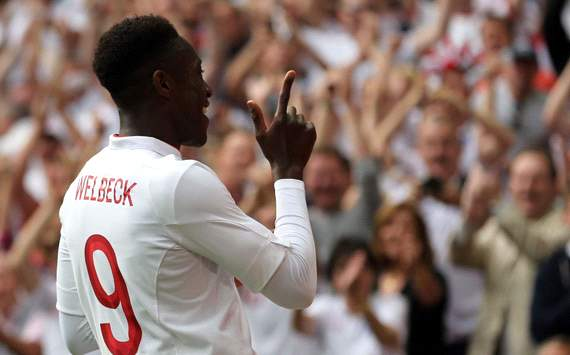 International Friendly: Danny Welbeck, England v Belgium