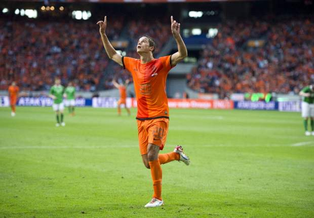 Afellay: I have always felt a 'click' with Van Persie