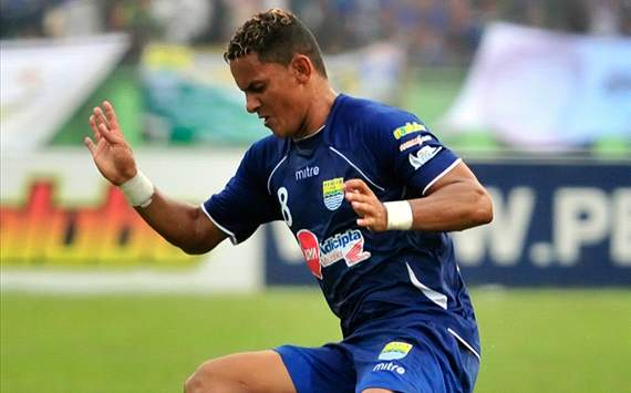 Marcio Souza - Persib Bandung (GOAL.com/Antara)