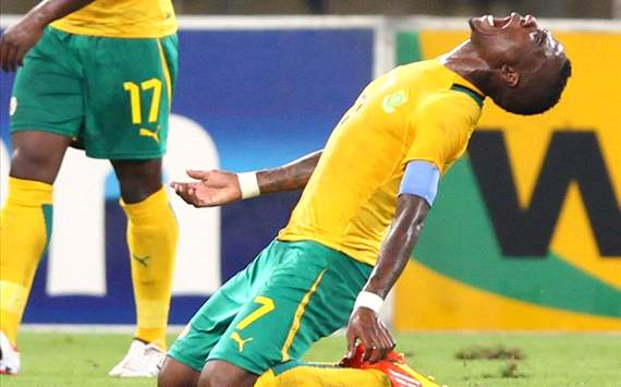 South Africa midfielder Teko Modise
