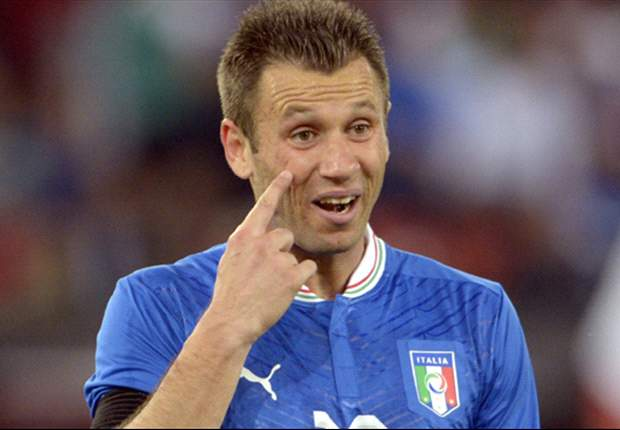 Cassano keen to set the record straight against Spain