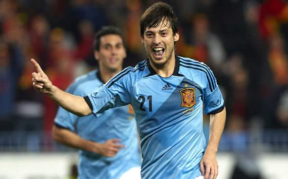 David Silva, Spain, China