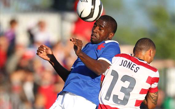 Olivier Occean; Jermaine Jones - Canada vs. USA
