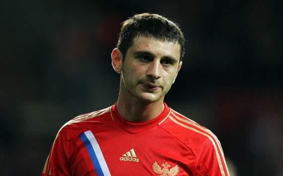 Dzagoev: Czech Republic supporters made it hard for Russia