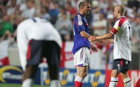 Zidane: Beckham is class