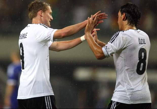 Germany's Schurrle takes blame for Greece equaliser
