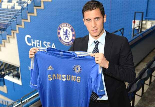 Eden Hazard to wear No.17 shirt for Chelsea