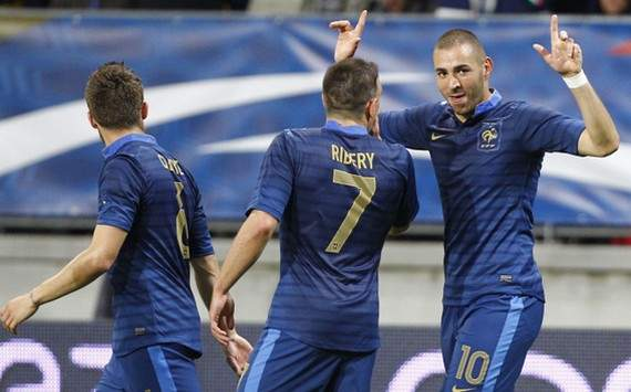 International Friendly : Karim Benzema & Franck Ribery (France vs Estonia)