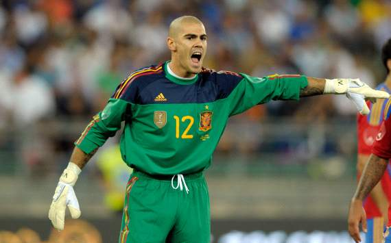 Understudy Valdes happy to keep spirits high within the Spain camp