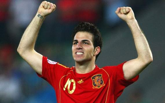 Cesc Fabregas (Spain - Italy) Euro 2008