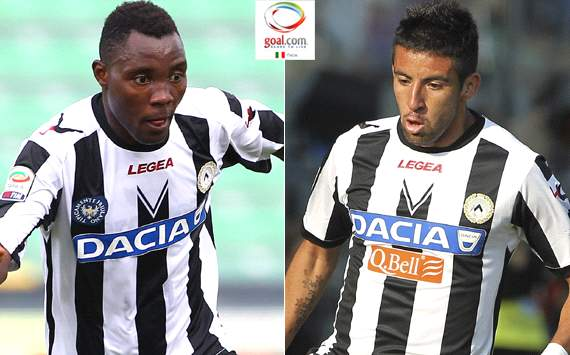 Official: Juventus sign Udinese duo Isla & Asamoah