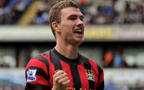 AC Milan discuss Dzeko deal with Manchester City