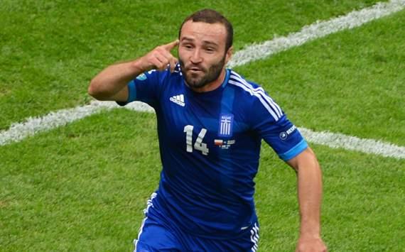 UEFA EURO - Poland v Greece, Dimitris Salpigidis