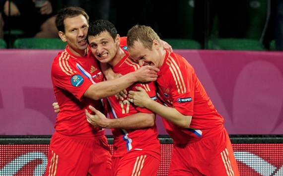 UEFA EURO - Russia v Czech Republic, Alan Dzagoev