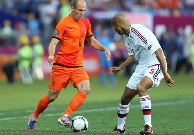 Robben: Denmark defeat felt like re-run of Champions League final