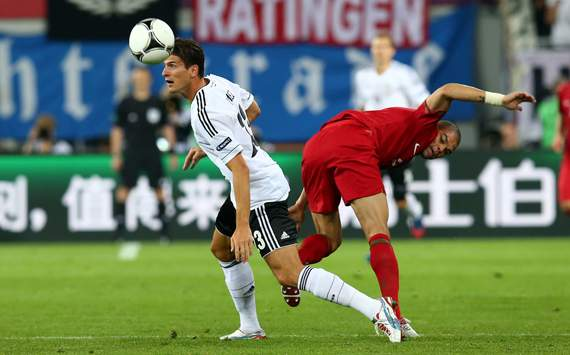 UEFA EURO - Germany v Portugal, Mario Gomez and Pepe