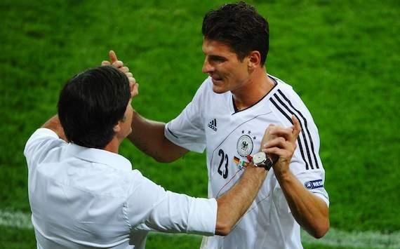 Germany, Joachim Löw & Mario Gomez