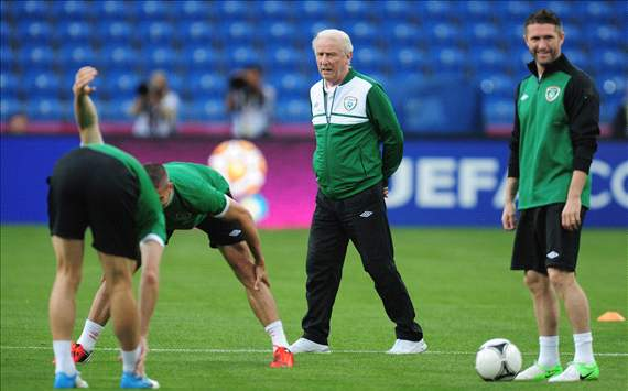 Recall of Dunne and Given would be backward step for Trapattoni's Ireland