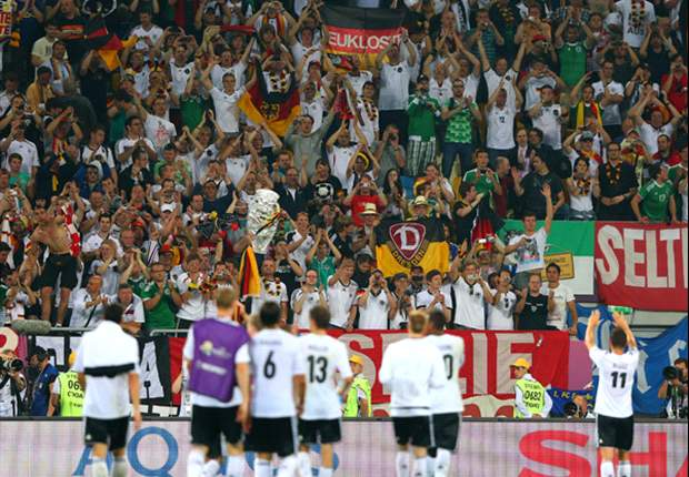 'Extreme right German fans with Nazi war banners' behind Uefa's DFB charge