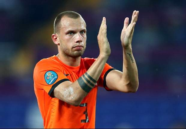Heitinga: Germany's players told Dutch team they will beat Denmark
