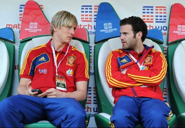 Torres: Mata is 'sad' at being left out of the Spain squad