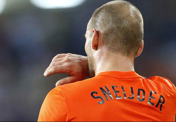 Sneijder apologizes to Netherlands fans after Germany defeat