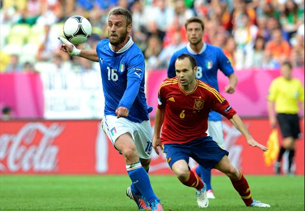 De Rossi delighted to overcome 'hardest match' against Spain
