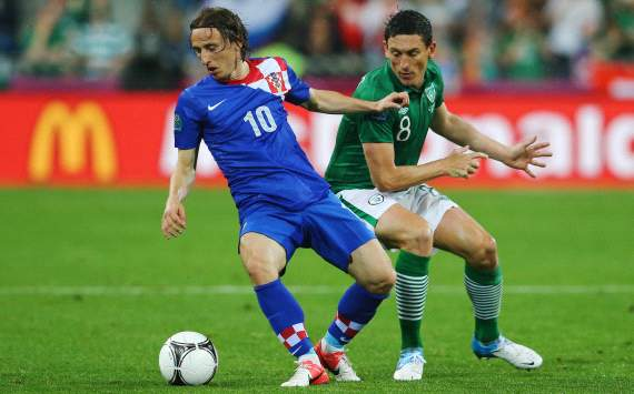 Luka Modric: Croatia - Ireland (Euro 2012)