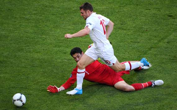 UEFA Euro 2012 : France vs England, James Milner &amp; Hugo Lloris  