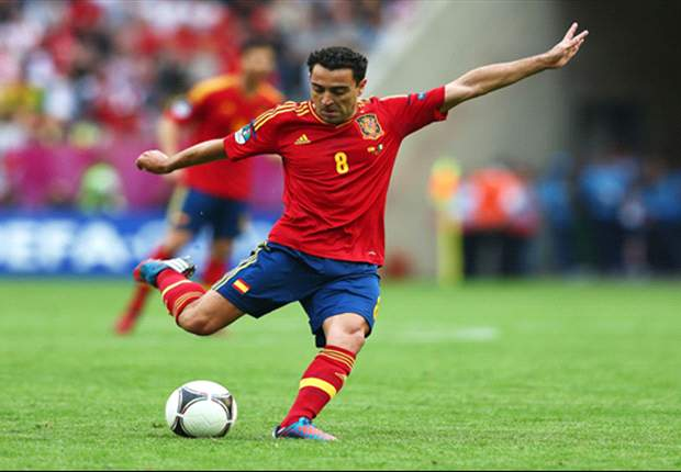 Xavi: Spain want to win Euro 2012 for Puyol and Villa