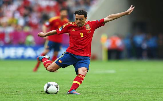 Xavi insists the Spain camp is in buoyant mood despite criticism over Italy draw