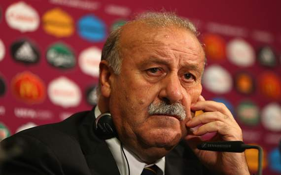 "Euro 2012, ESP - Del Bosque : ""La France a eu raison"""