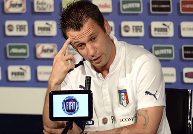 Cassano fined £11,679 by Uefa over homosexual comments