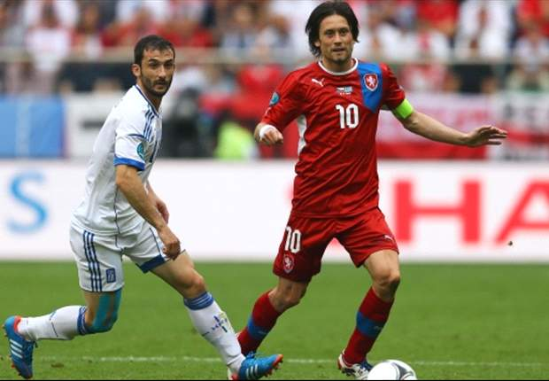 Rosicky remains doubtful for Czech Republic's crunch clash with Poland